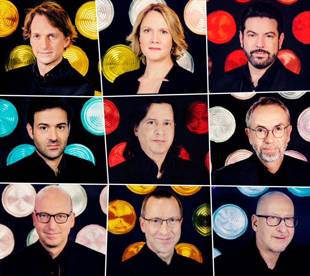 Scharoun-Ensemble Mitglieder-Portraits